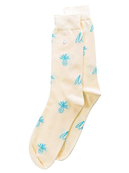 Pineapple Logo Sock