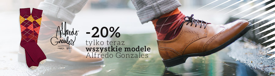 Kolorowe skarpetki Alfredo Gonzales